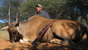 Mark Brown, President, took this eland on a recent trip to Africa
